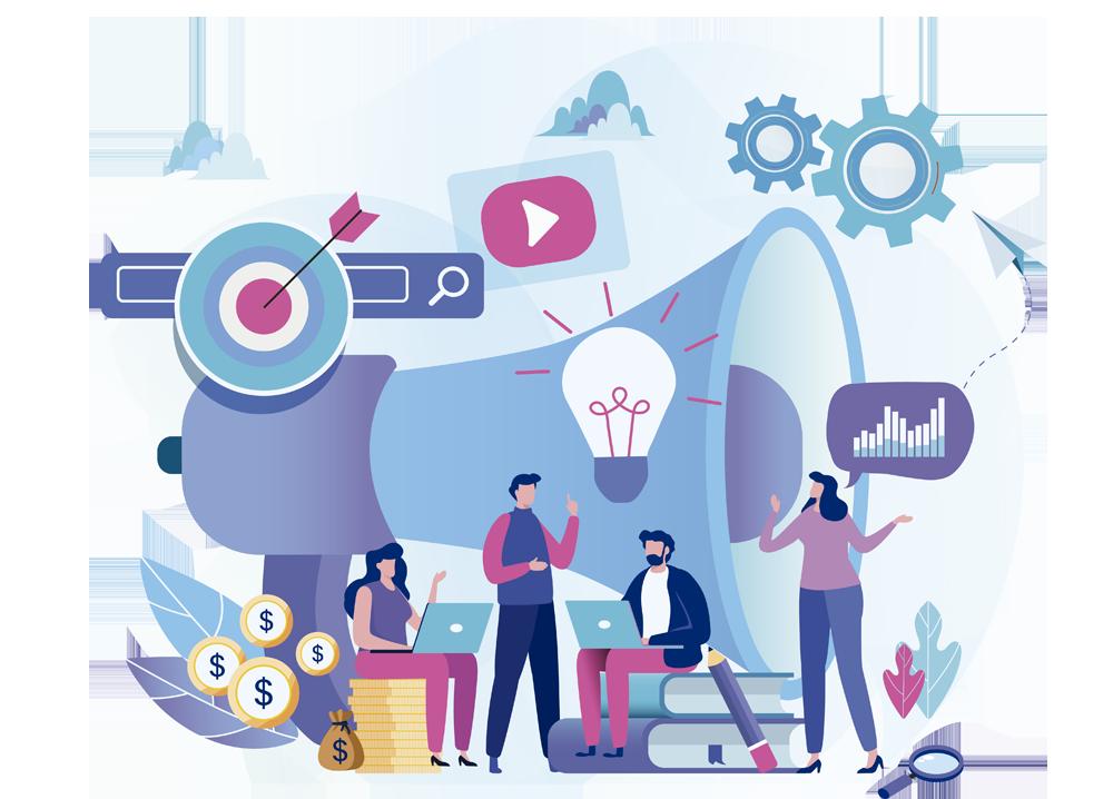 Servicios de diseño web y marketing digital